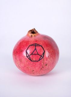 TruncatedTetrahedral-tattooed-pomegranate-c-print-8x10-2010
