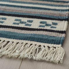 "KATTRUP Rug, flatwoven, handmade/blue, 2'6""x4'11"" - IKEA Ikea Rug, Scandinavian Pattern, Wet Spot, Ikea Family, Professional Carpet Cleaning, Underfloor Heating, Types Of Flooring, How To Clean Carpet, Wool Rug"