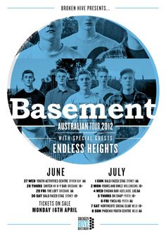 Basement Australian tour.  Details at: http://www.bombshellzine.com/blog/2012/04/basement-announce-australian-tour-dates/