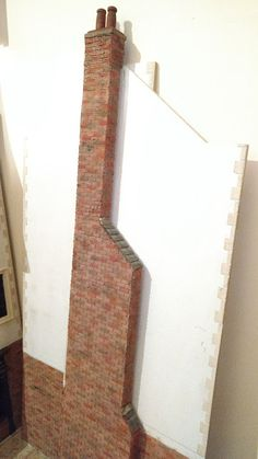 My Miniature World: Working on the Chimney for The Master Swordsman Pu...