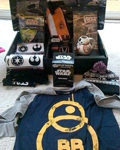 If you are in the mood for getting me lootcrate, get me the limited edition star wars crate. :D