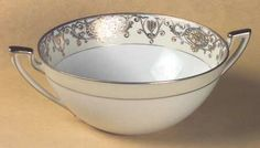 Handled Vegetable Bowl in the 175 pattern by Noritake