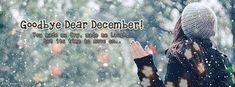 Goodbye December Hello January: Hello friends the new year is coming and everybody decided their goals and resolution in this month. December Wishes, December Quotes, Hello January, Facebook Cover Images, Facebook Photos, January Images, New Year Is Coming, Wallpaper Free Download, Photo Wallpaper