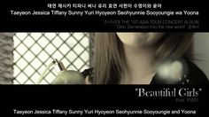 snsd feat.yoo young jin-beautiful girls(subs)