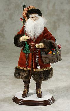 kat soto santa | ... joins a wonderful series of beautiful handcrafted Santas by Kat Soto