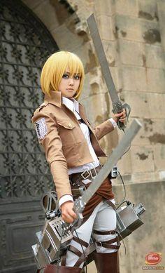 Armin Arlert #cosplay - Attack On Titan (進撃の巨人, Shingeki no Kyojin)