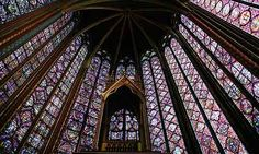 Miss this! St. Chapelle Cathedral, Paris, France