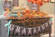 Celebrate Thanksgiving with SGS Celebrate Thanksgiving with SGS   Free Thanksgiving printables from Schoolgirl Style Thanksgiving decor decorations chalkboard banner www.schoolgirlstyle.com