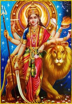 Maa Chandi is the total energy of the universe. By doing Chandi Homam once a year one can become free from evil eyes and get supremacy power to fulfill all desire. Durga Puja, Shiva Hindu, Hindu Deities, Hindu Art, Krishna, Maa Durga Image, Maa Durga Photo, Arte Shiva, Shiva Art