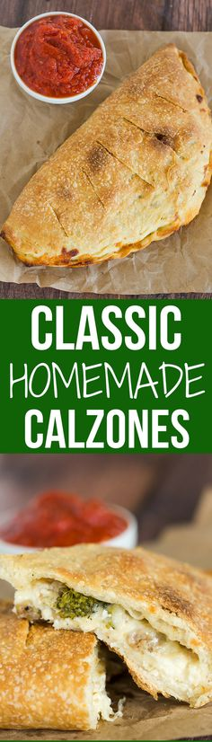 Classic Calzones | Brown Eyed Baker | Bloglovin'