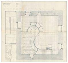 plansofarchitecture:  Peter Zumthor, Restauruerung Turm Lumbrein, 1970