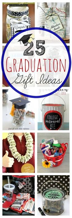 25 Graduation Gift Ideas | Crazy Little Projects