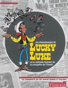Présentation de l'univers de la bande dessinée créée en 1946 par le dessinateur et scénariste belge Morris rejoint plus tard par le scénariste français Goscinny. Sur fond de conquête de l'Ouest, ces albums sont construits autour de Lucky Luke, le cow-boy le plus célèbre du neuvième art, et de son cheval, Jolly Jumper.11 volumes servent de fil conducteur à cet ouvrage.   Cote: BD M677lu v.43