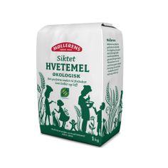 Møllerens Økologisk Siktet Hvetemel flour packaging emballasje GRID design Kate Forrester