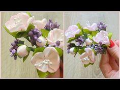 Цветок вишни своими руками/Cherry blossom with own hands - YouTube