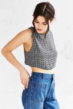 Staring At Stars Mono Wrapped Tank Top - Urban Outfitters