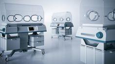 3D Medical Device Illustration