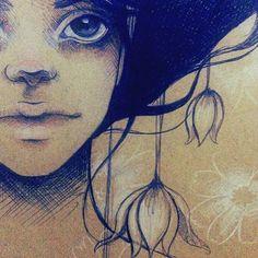 Apaixonada pela cria e pelo combo papel kraft + caneta bic + lápis de cor. ♡ www.julianarabelo.com
