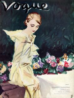 """Vogue, June 1933 cover 