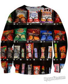 Vending Machine Crewneck Sweatshirt