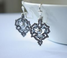 My Leaf of Olwen Earrings featured in Sarah Of Sweden's blog