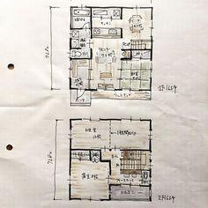 『32坪の間取り』 Lの字型LDK+和室+踊り場付き階段+寝室+将来間仕切り子供部屋。 32坪に和室4.5帖を入れ込みました。 明けても暮れても32坪。 今日も明日も32坪。 きっと死ぬまで32坪。 あ〜32坪。 寒い冬。いつか春が訪れる。 #間取り#間取り図#間取り図大好き #間取りマニア#間取り萌え#間取り力 #間取りフェチ #間取りに悩む#間取り紹介 #間取り集#マイホーム#新築計画#住まい#暮らし#マイホーム計画#新築一戸建て#floorplan#japanese