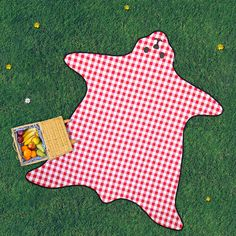 bear picnic blanket by all things brighton beautiful | notonthehighstreet.com