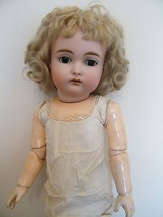 ANTIQUE-EARLY-KESTNER-192-CHILD-DOLL-EXC-COND-WITH-PROVENANCE