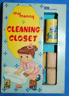 My Merry Cleaning closet. Toy set