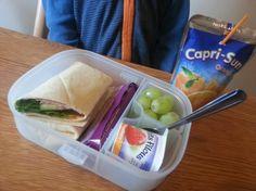 Healthy Lunchboxes With Capri-Sun The Juice Drink  #CapriSunSchool #shop