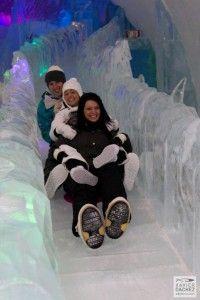 Ice Hotel in Quebec, Canada