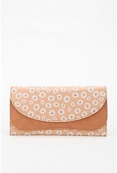 Cooperative Floral Flap Checkbook Wallet