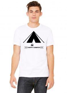 Happy Camper - Tshirt