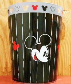Amazon.com: Disney Mickey Mouse Wastebasket Bath Trash Can: Home & Kitchen 14,70