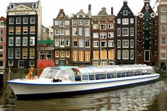 Amsterdam barge tour boats