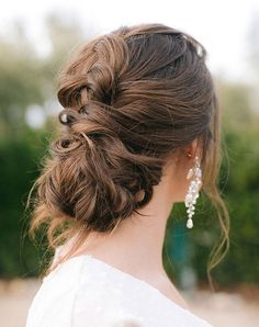 11 Seriously Chic Bridesmaid Hair Ideas for Your Non-Basic Wedding Party Big Box Braids Hairstyles, French Braid Hairstyles, Wedding Braids, Hair Wedding, Party Wedding, Spring Wedding, Wedding Ideas, Loose French Braids, Braided Half Updo