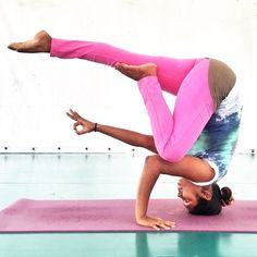Headstand | Yoga Pose | Yoga Inspiration | Yogi Goals