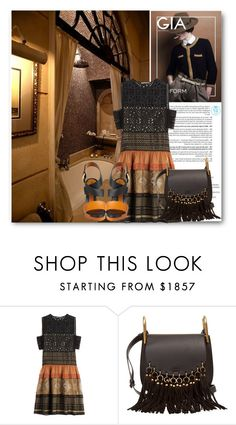 """Take Me To That Place"" by queenvirgo ❤ liked on Polyvore featuring Alberta Ferretti, Chloé and Fendi"