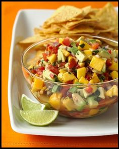 Mango & Avocado Salsa •1 avocado, halved, pitted, peeled, and diced medium •1 ripe mango, peeled, pitted, and diced medium •1 small red onion, diced small •1/4 cup finely chopped fresh cilantro leaves •1/2 to 1 habanero chile (stem and seeds removed), minced •2 tablespoons fresh lime juice •1 tablespoon extra-virgin olive oil •1/2 teaspoon coarse salt