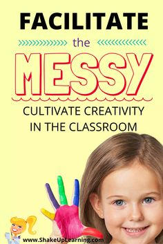 Messy Learning Most teachers like structure, and with good reason. Structure in the classroom is necessary, especially for a lot of learners. But overly structured classes can stifle creativity. Students adapt to the structure and Instructional Technology, Instructional Strategies, Educational Technology, Messy Learning, Blended Learning, Professional Development For Teachers, Problem Based Learning, Flipped Classroom, Classroom Ideas