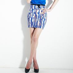 Vancl - Colorful Bodycon Skirt $75.00 http://www.shop.secretenvy.com/Vancl-Colorful-Bodycon-Skirt-20148580.htm