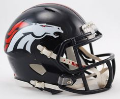 Denver Broncos Football Helmets