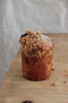 muffins092 Muffins aux mûres sauvages, streusel à la noisette