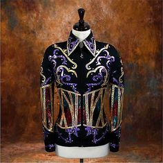 Other Rider Clothing 3167: Large Showmanship Pleasure Horsemanship Show Jacket Shirt Rodeo Queen Western -> BUY IT NOW ONLY: $239.98 on eBay!
