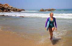 WorldWide Traveler: Sesion de fotos surfer en La Punta de Zicatela, Mexico.