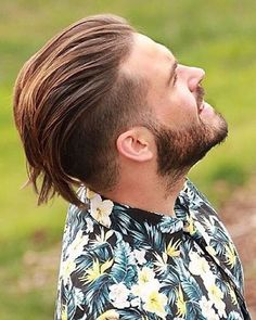 Undercut with Beard Haircut for Men. New Undercut with Beard Haircut for Men - Handsomely Cutthroat Impression. 21 Men S Disconnected Undercut Hairstyles that Look Fresh Af Mens Summer Hairstyles, Summer Haircuts, Trending Hairstyles, Haircuts For Men, Undercut With Beard, Beard Haircut, Fade Haircut, Undercut Hairstyles, Cool Hairstyles