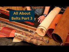 Leather Belts, Third, Hardware, Decorations, Learning, Videos, Dekoration, Studying, Computer Hardware
