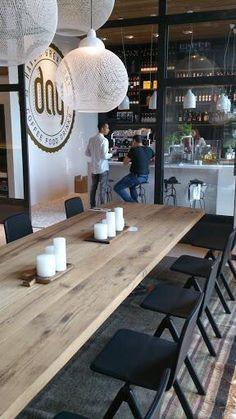 Restaurant rustic interior design inspiration http://www.jmbilliard.com #COCOON…