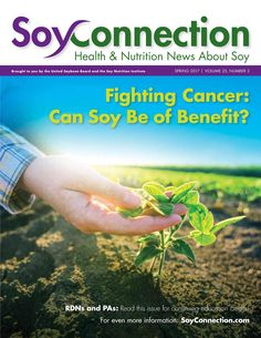 Role of Soy in the Prevention, Treatment of Six Cancer Types. @SoyConnection