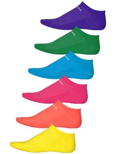 adidas Women Superlite Color No Show Socks 6-Pack $14.99